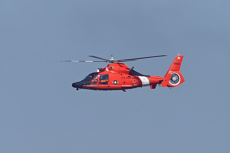 USA 2011 - San Francisco Fleet Week - Airshow <br /> Coast Guard HH-65 Rescue Demonstration
