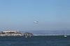 USA 2011 - San Francisco Fleet Week - Airshow<br /> United Airlines 747 - Alcatraz