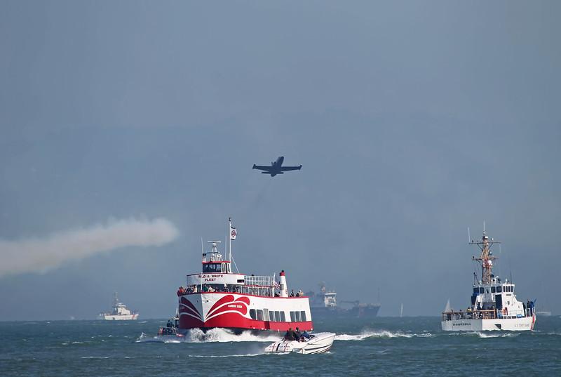 USA 2011 - San Francisco Fleet Week - Airshow<br /> Patriots Jet Team