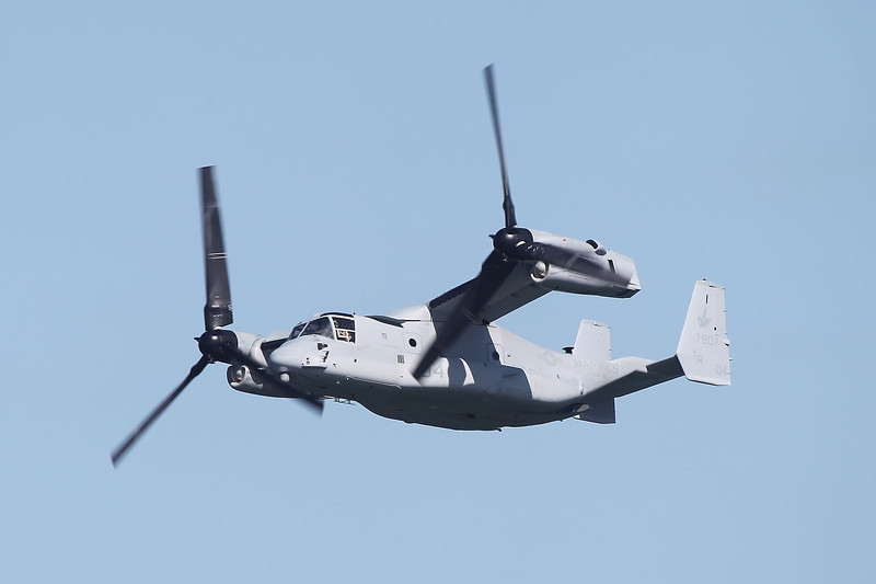 USA 2011 - San Francisco Fleet Week - Airshow<br /> MV-22A Osprey