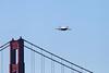 USA 2011 - San Francisco Fleet Week - Airshow<br /> Golden Gate Bridge - F-18 Super Hornet