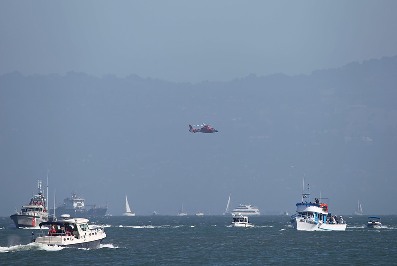 USA 2011 - San Francisco Fleet Week - Airshow<br /> Coast Guard HH-65 Rescue Demonstration