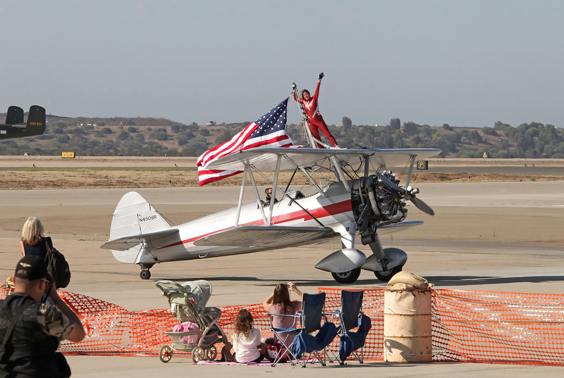 USA 2011 - MCAS Miramar Air Show - Silver WIngs, Wing Walker