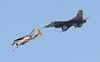 USA 2011 - MCAS Miramar Air Show - Heritage Flight<br /> F-16 Viper / P-51 Mustang