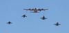 USA 2011 - MCAS Miramar Air Show - Marine Air-Ground Task Force Demo (MAGTF)<br /> KC-130J Super Hercules / F/A-18 Hornet / AV-8B Harrier