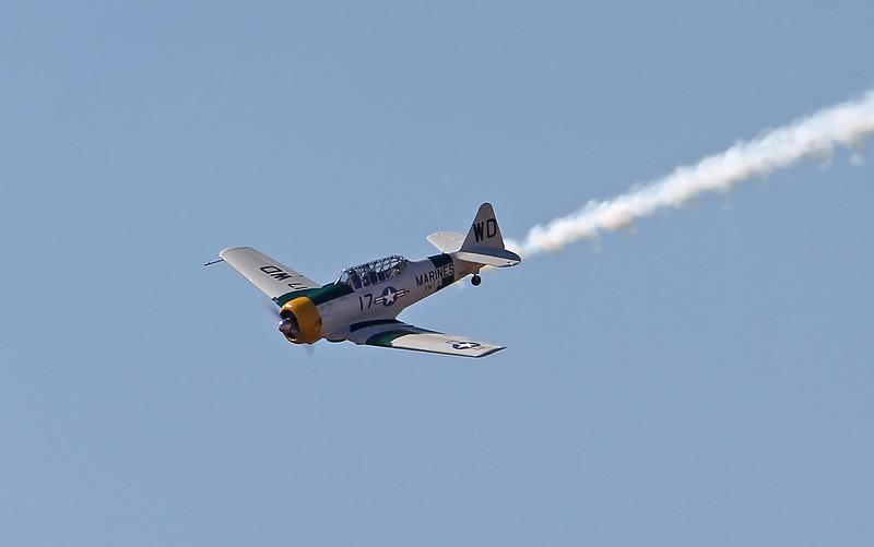 """USA 2011 - MCAS Miramar Air Show - John Collver, """"Wardog"""" AT-6 """"Texan"""""""