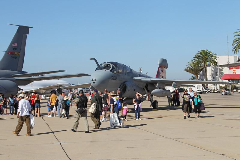 USA 2011 - MCAS Miramar Air Show - EA-6B Prowler