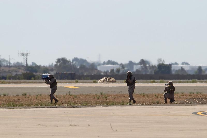 USA 2011 - MCAS Miramar Air Show - Marine Air-Ground Task Force Demo (MAGTF)