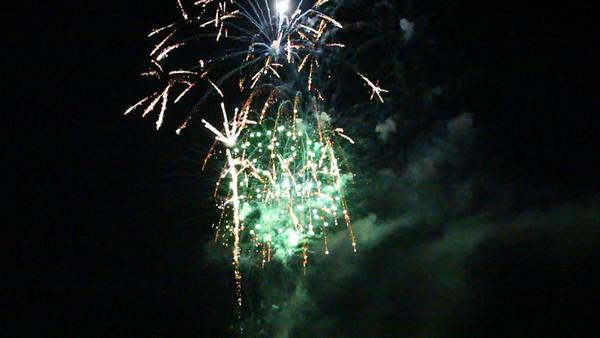 USA 2011 - MCAS Miramar Air Show - Twilight Show - Fireworks - VIDEO