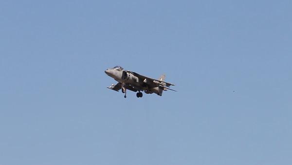 USA 2011 - MCAS Miramar Air Show - AV-8B Harrier<br /> Vertical Take-Off and Landing (VTOL) Demo - VIDEO