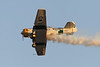 "USA 2011 - MCAS Miramar Air Show - Twilight Show<br /> John Collver, ""Wardog"" AT-6 ""Texan"""