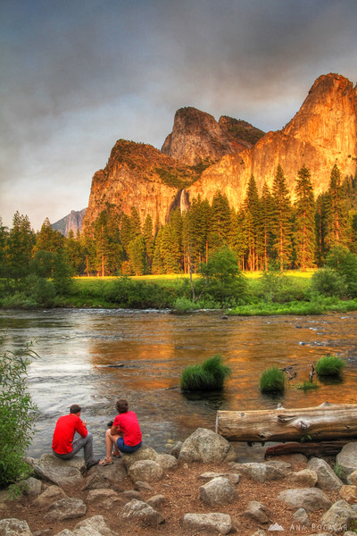 The Merced River in the late afternoon