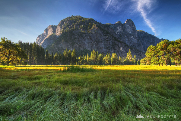 Yosemite in the early morning
