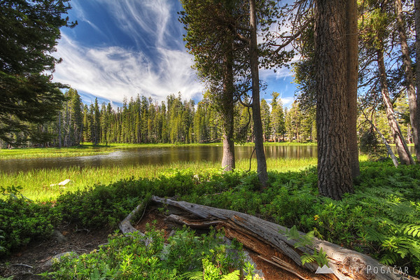 Siesta Lake near the Tioga Pass Road