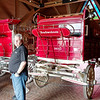 Budweiser beer wagons, Fort Collins Brewery