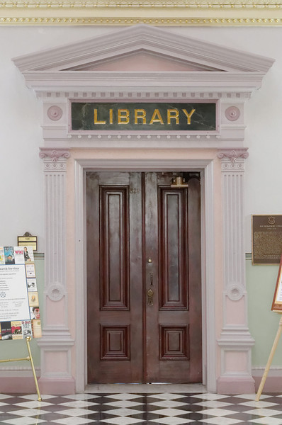 Library. Old Executive Office Building