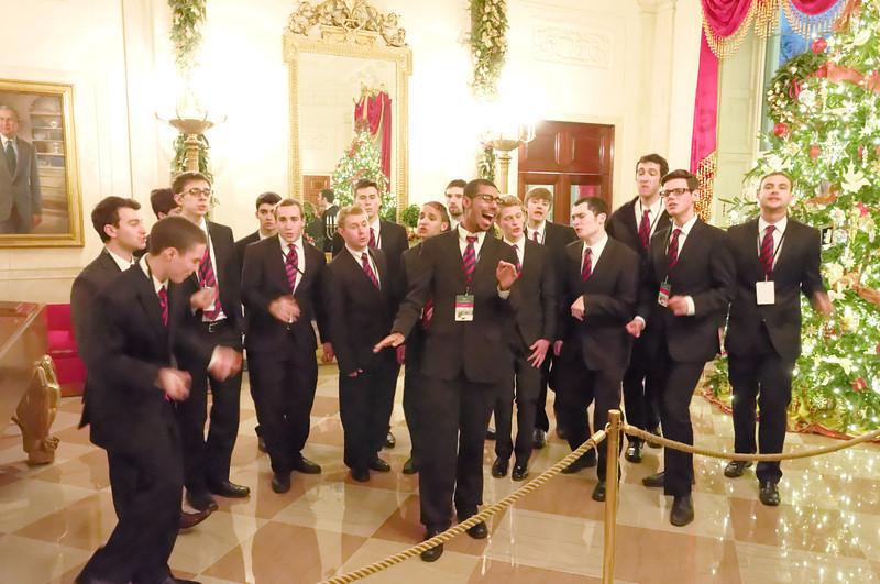 Entertainment on the White House Tour