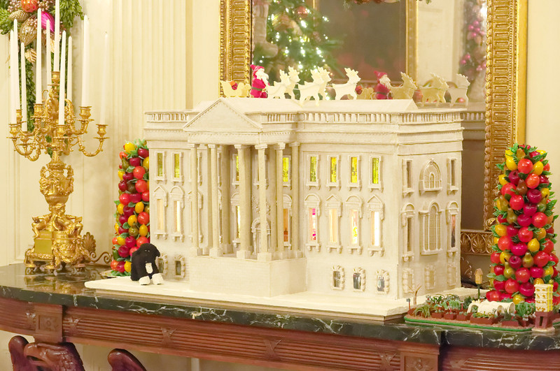 Gingerbread White House, State Dining Room, White House