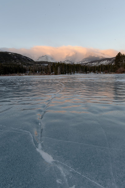 Sprague Lake at sunrise, Rocky Mountain National Park