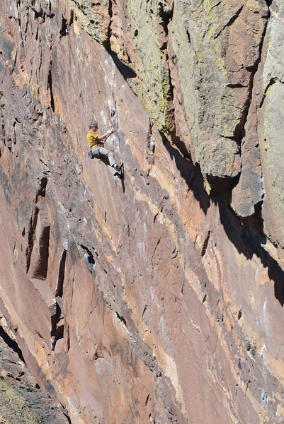 Rock climbers - Fowler Trail/Eldorado Canyon