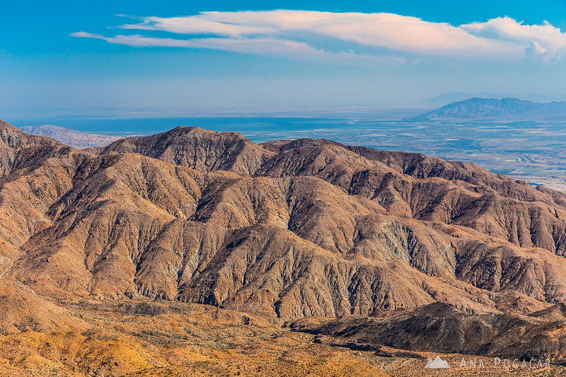 Looking south toward Salton Sea from Keys View, Joshua Tree NP