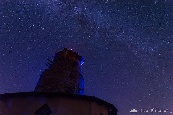 Night sky near Salton Sea