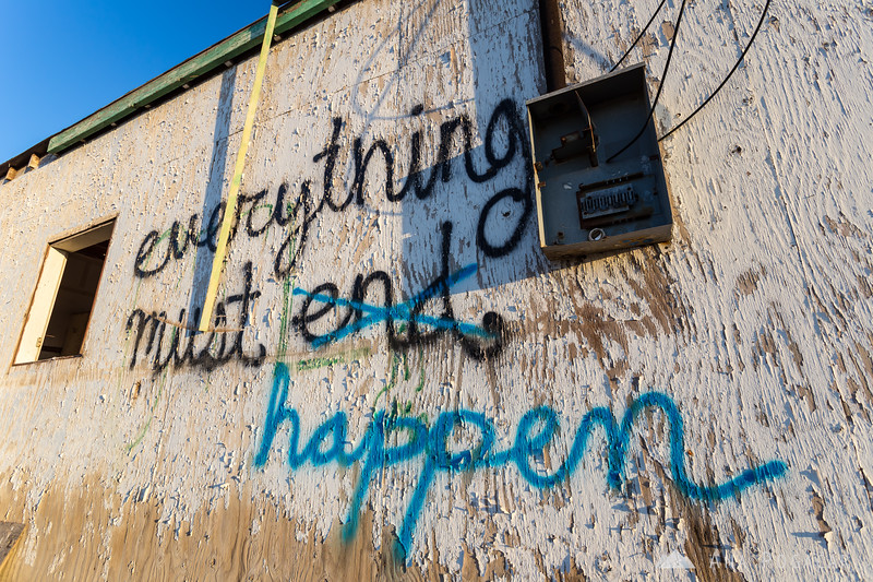 Everything must happen