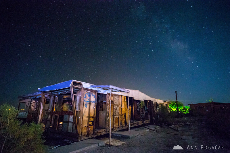 Milky Way in Salton Sea Beach