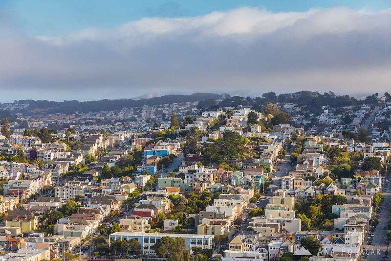 View of San Francisco from Corona Heights Park