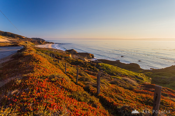 Big Sur in late afternoon light