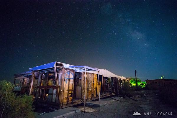 Milky Way in Salton Sea Beach