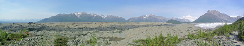 Kennicott and Root Glaciers