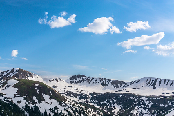 Views from the Independence Pass, Colorado