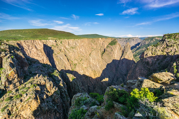 Views of the canyon, Black Canyon of the Gunnison, Colorado