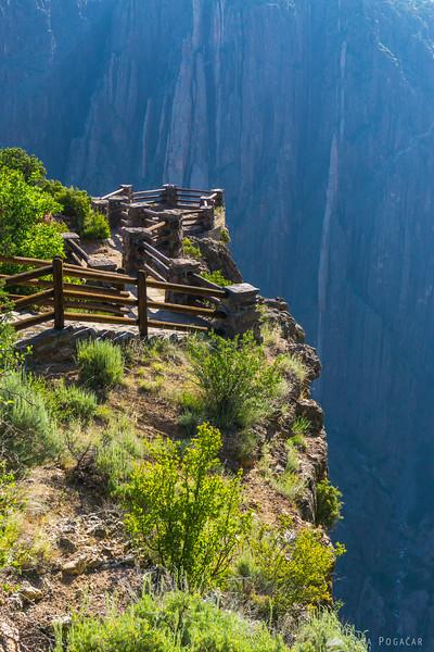 Visitor Center viewpoint, Black Canyon of the Gunnison, Colorado