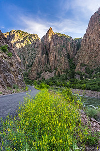 Early morning at East Portal, Black Canyon of the Gunnison, Colorado