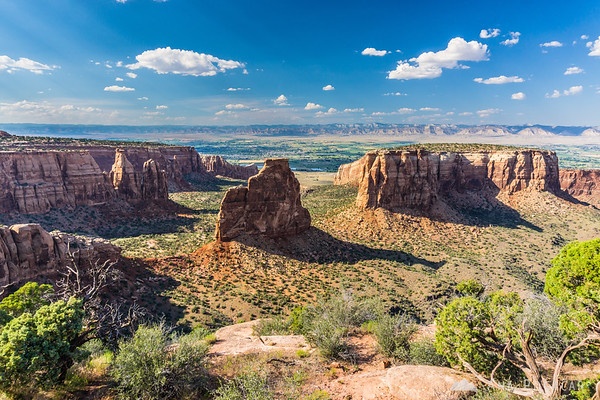 Independence Rock in Colorado National Monument