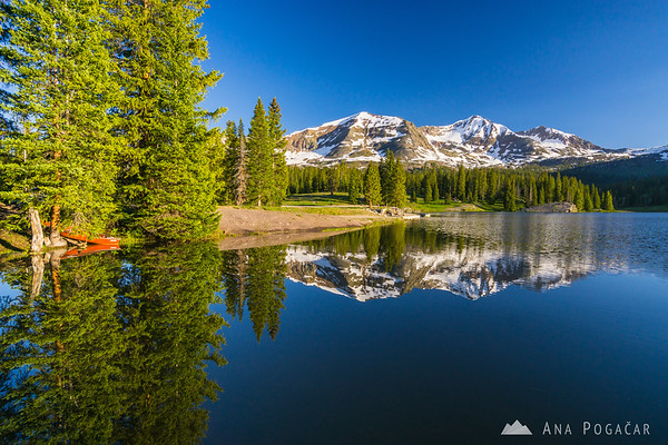 Early morning at Lake Irwin, near Crested Butte, Colorado