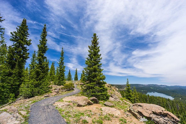 Land-O-Lakes hiking trail, Grand Mesa