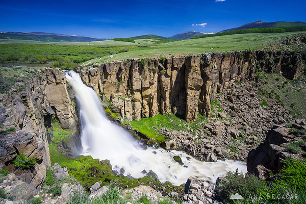 North Clear Creek Falls, Colorado
