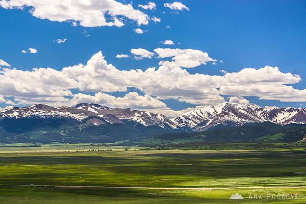 On the road, Colorado