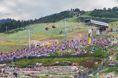 4th of July concert at the Canyons Resort, Park City, Utah