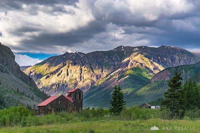 Outside Silverton, San Juan Mountains, Colorado