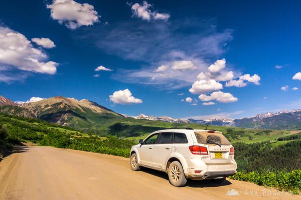 Views from Last Dollar Road, San Juan Mountains, Colorado