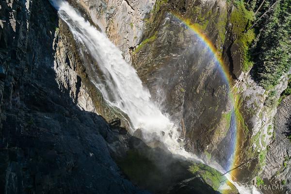 Bear Creek Falls near Ouray, San Juan Mountains, Colorado