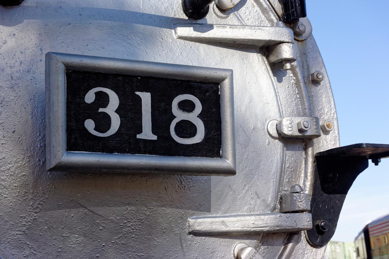 Denver & Rio Grande Western Steam Locomotive No. 318