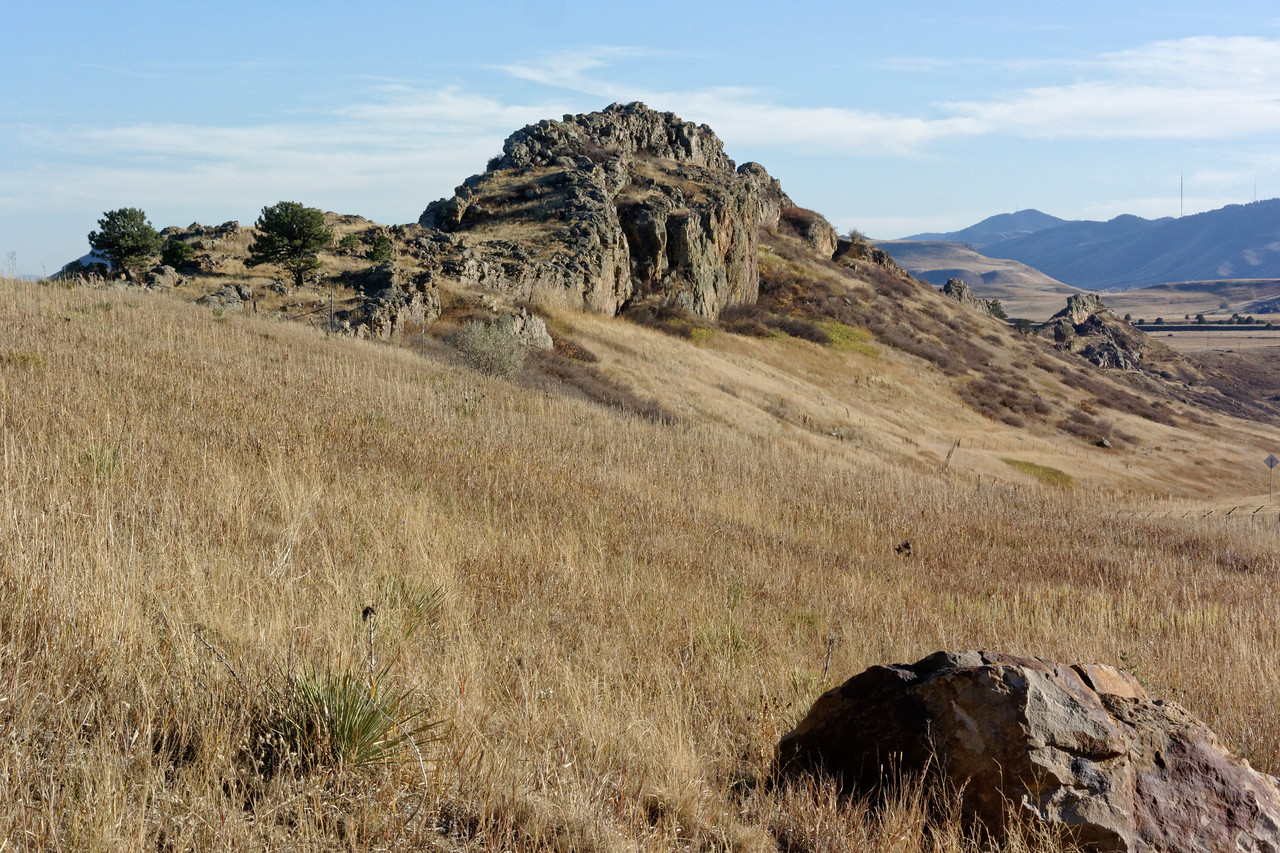 Leyden Ridge, north of Golden