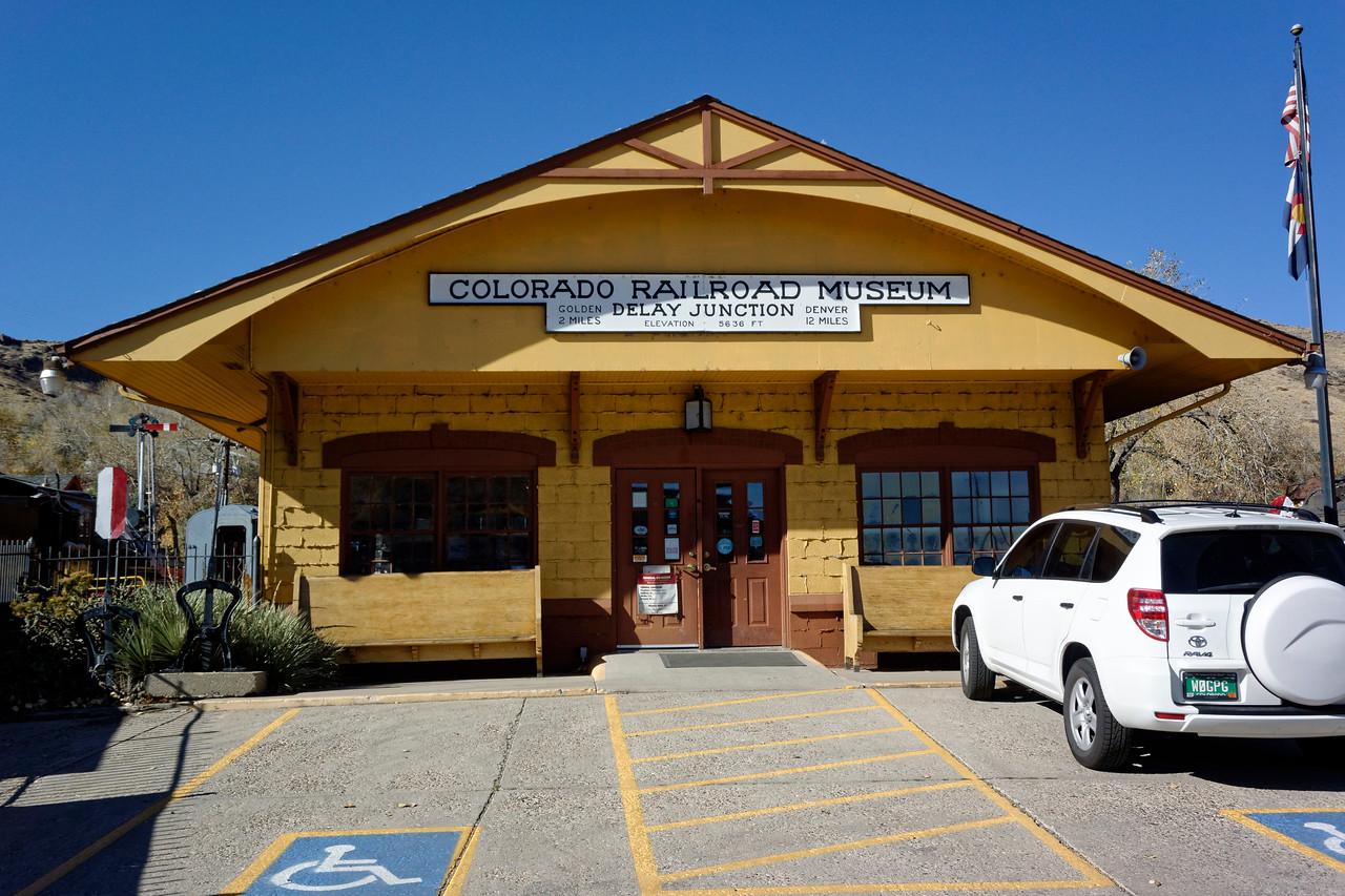Colorado Railroad Museum, Golden, Colorado