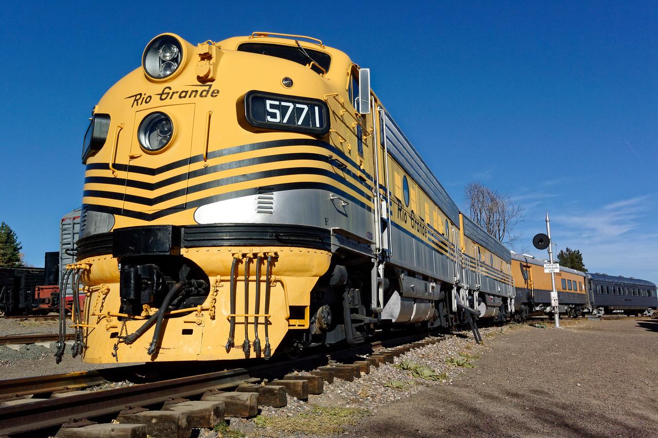 Denver & Rio Grande Western Diesel Engines No. 5771