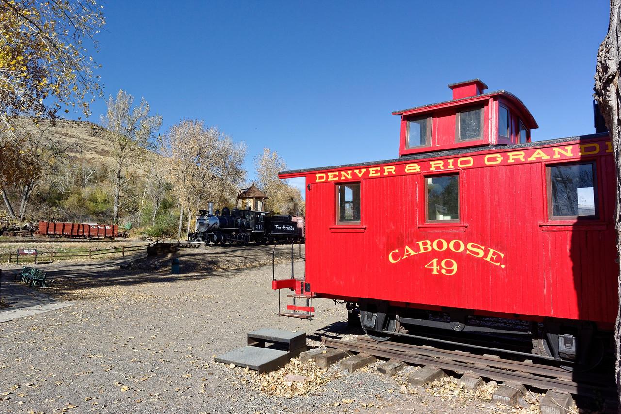 Denver & Rio Grande Caboose No. 49